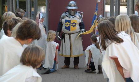 Klassenfahrt ins Mittelalter